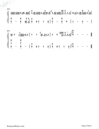 In the Dark-Camila Cabello Numbered Musical Notation Preview 4