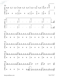 One Strange Rock-Zedd Numbered Musical Notation Preview 4