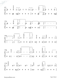 Babe-Sugarland ft Taylor Swift-Numbered-Musical-Notation-Preview-6