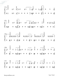 Babe-Sugarland ft Taylor Swift Numbered Musical Notation Preview 7