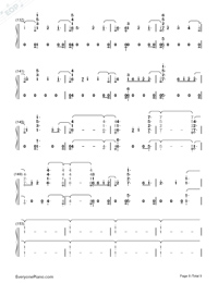Babe-Sugarland ft Taylor Swift Numbered Musical Notation Preview 8