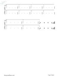 Babe-Sugarland ft Taylor Swift-Numbered-Musical-Notation-Preview-9