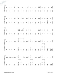 Bad Mood-Miley Cyrus Numbered Musical Notation Preview 5
