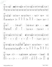 A Friend Who'd Loved for A Long Time-Us and Them OST-Numbered-Musical-Notation-Preview-3