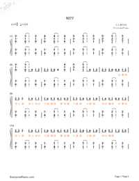 9277-Shen Qi-Numbered-Musical-Notation-Preview-1