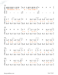 If You Don't Love Me, It's Fine Full Version-Jay Chou Numbered Musical Notation Preview 3