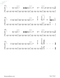 If You Don't Love Me, It's Fine-Jay Chou-Numbered-Musical-Notation-Preview-2