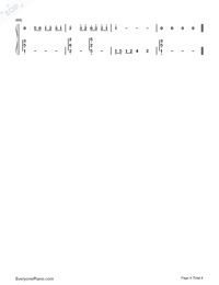 The Third Person-Women in Beijing OST-Numbered-Musical-Notation-Preview-4