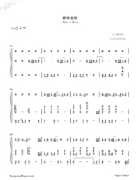 What I Miss-Stefanie Sun-Numbered-Musical-Notation-Preview-1