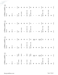 Where Were You in the Morning-Shawn Mendes-Numbered-Musical-Notation-Preview-3