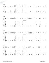 Where Were You in the Morning-Shawn Mendes-Numbered-Musical-Notation-Preview-4