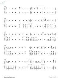Black Panther-Black Panther OST-Numbered-Musical-Notation-Preview-2