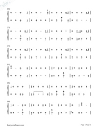 All The Stars-Black Panther OST Numbered Musical Notation Preview 4