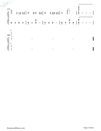 Take Me Hand-Cecile Corbel-Numbered-Musical-Notation-Preview-4