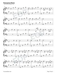 Take Me Hand-Cecile Corbel五線譜プレビュー2