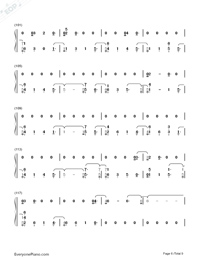 Friends-Marshmello and Anne-Marie-Numbered-Musical-Notation-Preview-6