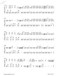 Solar Disco-Hatsune Miku-Numbered-Musical-Notation-Preview-2