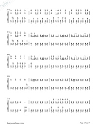 Solar Disco-Hatsune Miku-Numbered-Musical-Notation-Preview-4