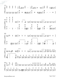 Solar Disco-Hatsune Miku-Numbered-Musical-Notation-Preview-5
