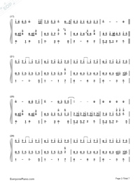 Against the Light-Stefanie Sun-Numbered-Musical-Notation-Preview-2