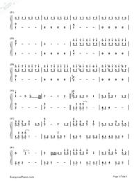 Itsuka no Hikari-Haruka Shimotsuki-Numbered-Musical-Notation-Preview-2
