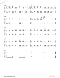 Itsuka no Hikari-Haruka Shimotsuki-Numbered-Musical-Notation-Preview-3