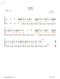 Sweety-Highlight Part-Numbered-Musical-Notation-Preview-1