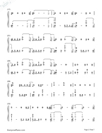 Girls Like You-Maroon 5 Numbered Musical Notation Preview 2