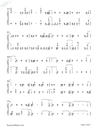 Girls Like You-Maroon 5-Numbered-Musical-Notation-Preview-4