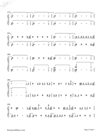 Girls Like You-Maroon 5-Numbered-Musical-Notation-Preview-5