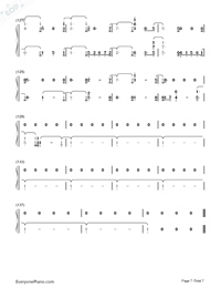 Girls Like You-Maroon 5-Numbered-Musical-Notation-Preview-7