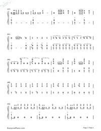 序曲『1812年』-変ホ長調 作品49両手略譜プレビュー3