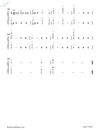序曲『1812年』-変ホ長調 作品49両手略譜プレビュー4