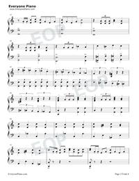 序曲『1812年』-変ホ長調 作品49五線譜プレビュー3