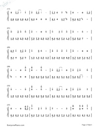 Castle in The Sky in C Major Advanced Version-Joe Hisaishi-Numbered-Musical-Notation-Preview-2