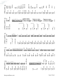 Senbonzakura Original Version-Hatsune Miku-Numbered-Musical-Notation-Preview-6