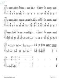 Senbonzakura Original Version-Hatsune Miku-Numbered-Musical-Notation-Preview-9