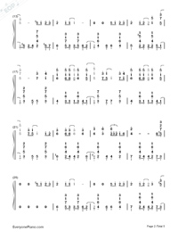 Summer Jazz Version-Joe Hisaishi Numbered Musical Notation Preview 2