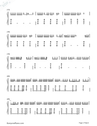 Better Now-Post Malone-Numbered-Musical-Notation-Preview-2