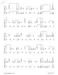 Fuego-The Eurovision Song Contest 2018-Numbered-Musical-Notation-Preview-4