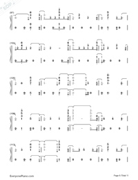 Fuego-The Eurovision Song Contest 2018-Numbered-Musical-Notation-Preview-6