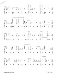 Fuego-The Eurovision Song Contest 2018-Numbered-Musical-Notation-Preview-7