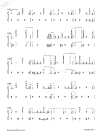 Fuego-The Eurovision Song Contest 2018-Numbered-Musical-Notation-Preview-8