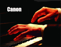 Canon Simple Version with Fingering Mark-Johann Pachelbel