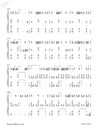 See You Again-Accompaniment-Numbered-Musical-Notation-Preview-2