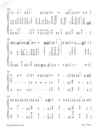 See You Again-Accompaniment-Numbered-Musical-Notation-Preview-4