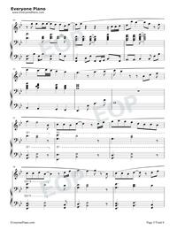 See You Again-ピアノ伴奏譜五線譜プレビュー5