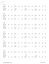 At My Weakest-James Arthur-Numbered-Musical-Notation-Preview-2