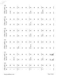 At My Weakest-James Arthur-Numbered-Musical-Notation-Preview-3