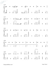 At My Weakest-James Arthur-Numbered-Musical-Notation-Preview-6